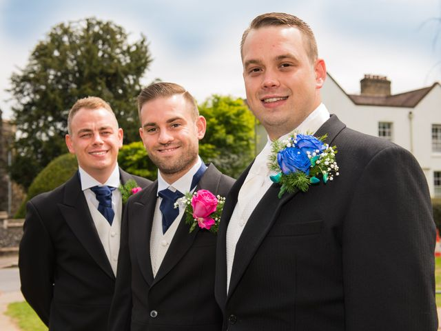 Sean and Charlotte's Wedding in Hertford, Hertfordshire 8