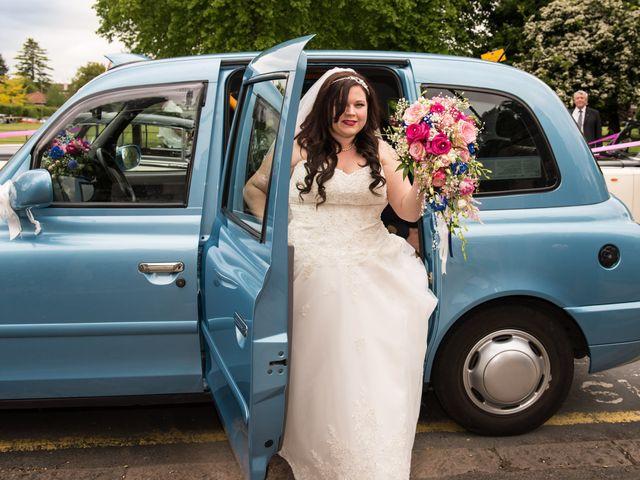 Sean and Charlotte's Wedding in Hertford, Hertfordshire 10