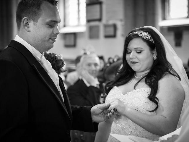 Sean and Charlotte's Wedding in Hertford, Hertfordshire 14