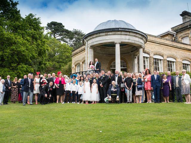 Sean and Charlotte's Wedding in Hertford, Hertfordshire 1