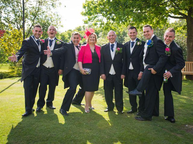 Sean and Charlotte's Wedding in Hertford, Hertfordshire 16