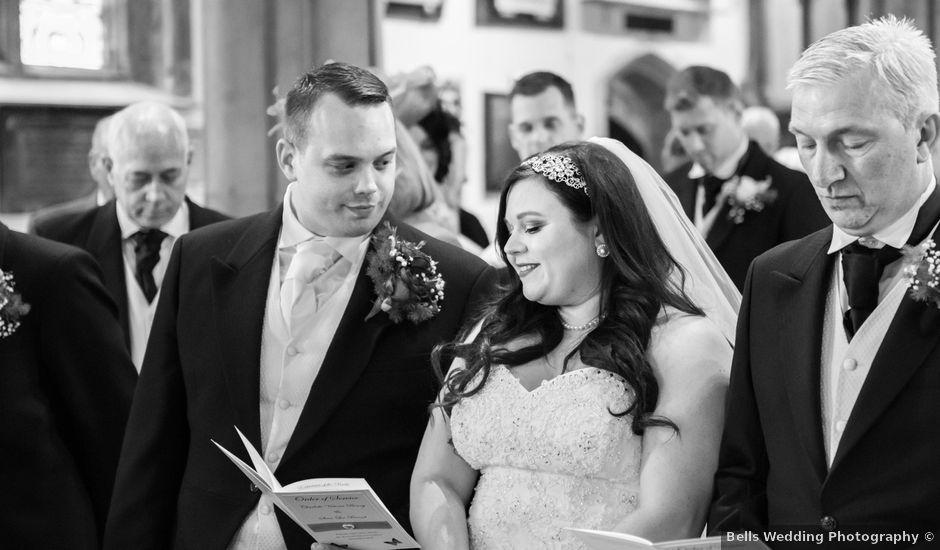 Sean and Charlotte's Wedding in Hertford, Hertfordshire