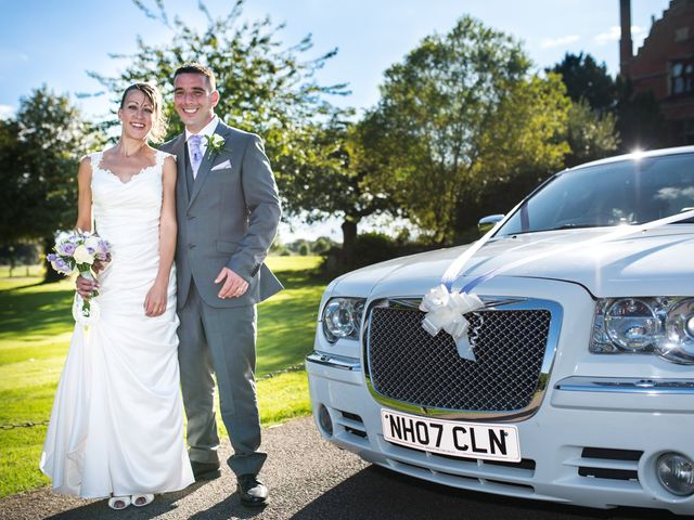 Kelly and Steve's Wedding in Herts, Hertfordshire 1
