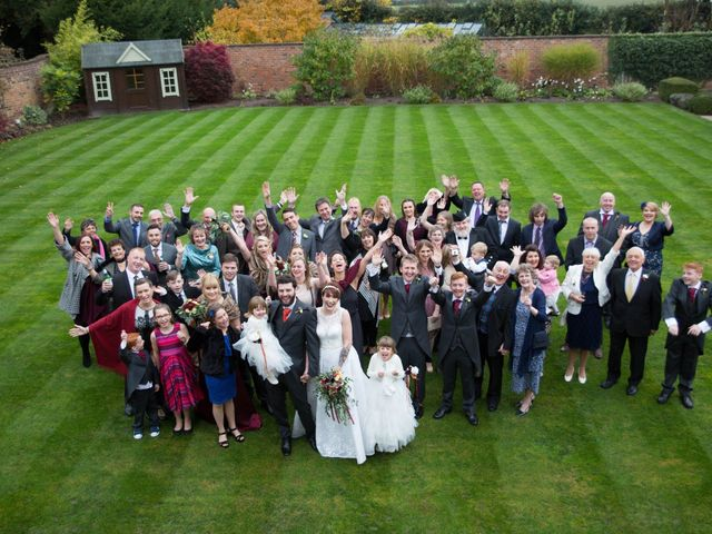 Greig and Chrissy's Wedding in Peover Superior, Cheshire 36