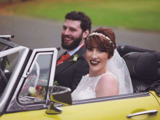 Greig and Chrissy's Wedding in Peover Superior, Cheshire 38