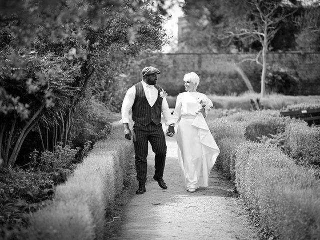 Tonie & Marcus's wedding