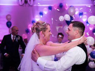 Ashleigh & David's wedding