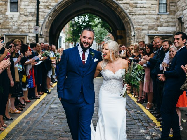 Ally & James's wedding