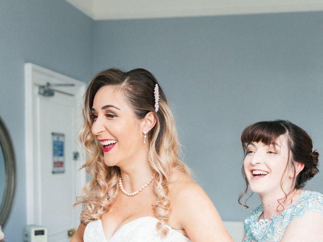 Callum and Flora's Wedding in Nr Rugby, Warwickshire 17