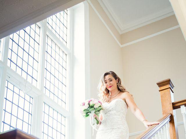 Callum and Flora's Wedding in Nr Rugby, Warwickshire 21