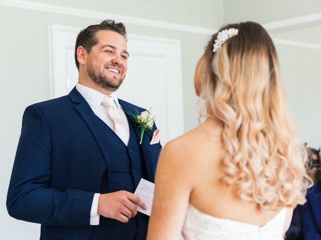 Callum and Flora's Wedding in Nr Rugby, Warwickshire 23