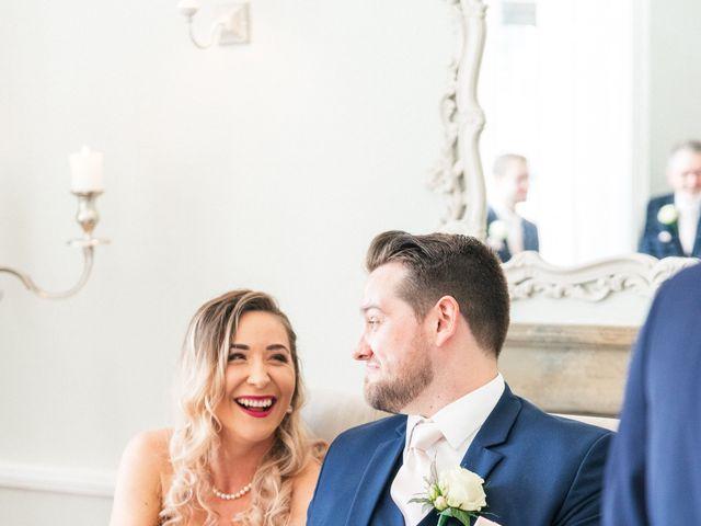 Callum and Flora's Wedding in Nr Rugby, Warwickshire 25