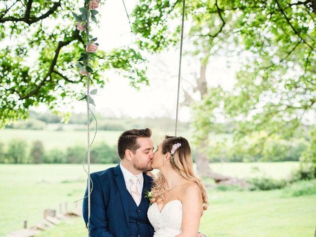 Callum and Flora's Wedding in Nr Rugby, Warwickshire 27