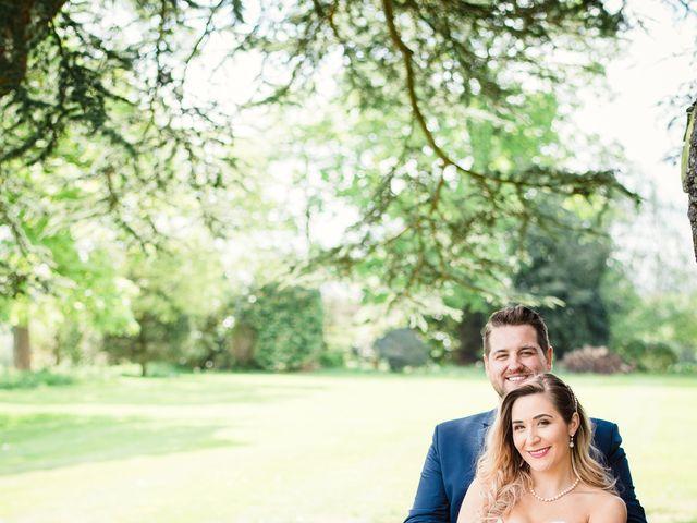 Callum and Flora's Wedding in Nr Rugby, Warwickshire 2