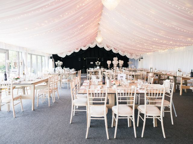 Callum and Flora's Wedding in Nr Rugby, Warwickshire 32