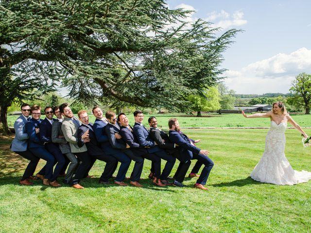 Callum and Flora's Wedding in Nr Rugby, Warwickshire 33