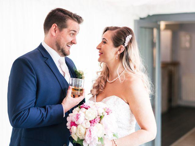 Callum and Flora's Wedding in Nr Rugby, Warwickshire 35