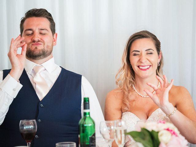 Callum and Flora's Wedding in Nr Rugby, Warwickshire 37