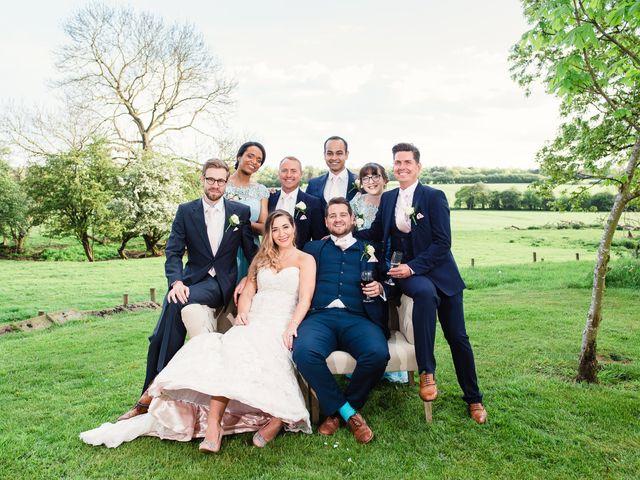 Callum and Flora's Wedding in Nr Rugby, Warwickshire 38