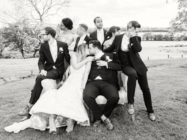Callum and Flora's Wedding in Nr Rugby, Warwickshire 39