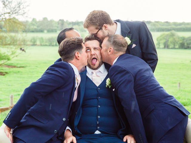 Callum and Flora's Wedding in Nr Rugby, Warwickshire 40