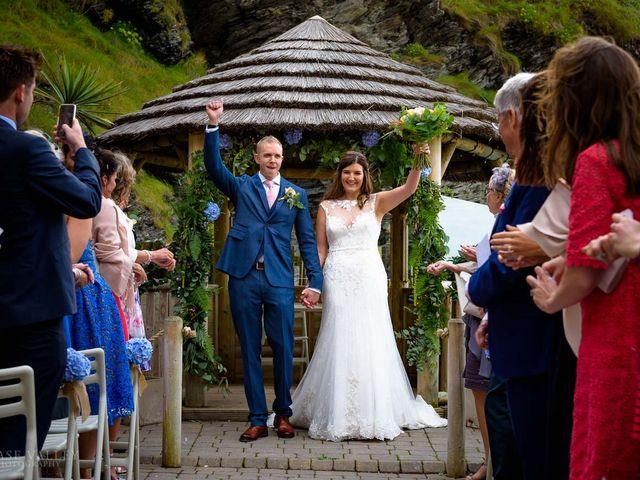 Kim and Karl's Wedding in Ilfracombe, Devon 18