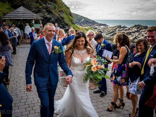 Kim and Karl's Wedding in Ilfracombe, Devon 19