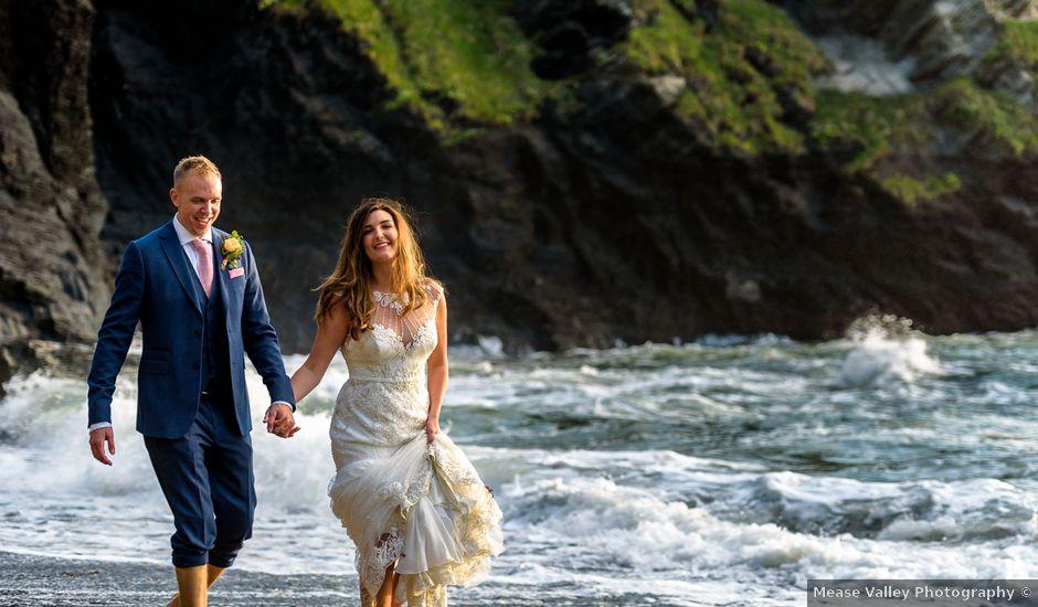 Kim and Karl's Wedding in Ilfracombe, Devon
