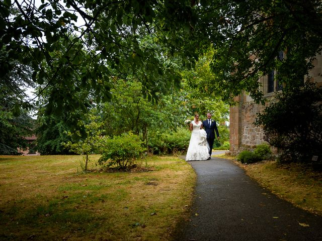 Claire and Davor's Wedding in Solihull, West Midlands 33