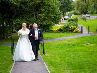 Julie & Mark's wedding 1
