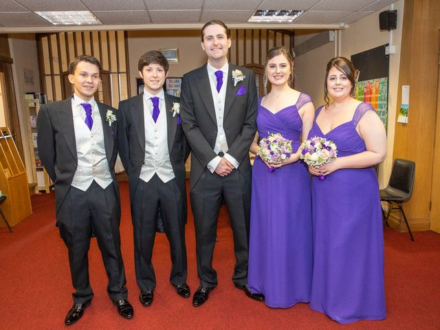 Paul and Jess's Wedding in Otterburn, Northumberland 22