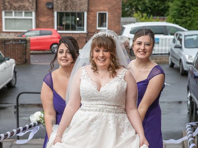 Paul and Jess's Wedding in Otterburn, Northumberland 29