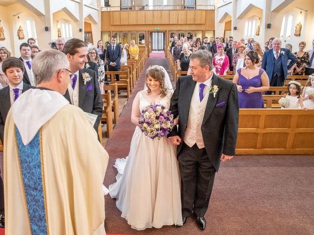 Paul and Jess's Wedding in Otterburn, Northumberland 38
