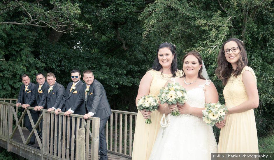 Adam and Clare's Wedding in Warwick Castle, Warwickshire