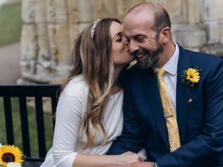 Polly & Simon's wedding