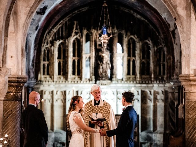 Joel and Emily's Wedding in Canterbury, Kent 38