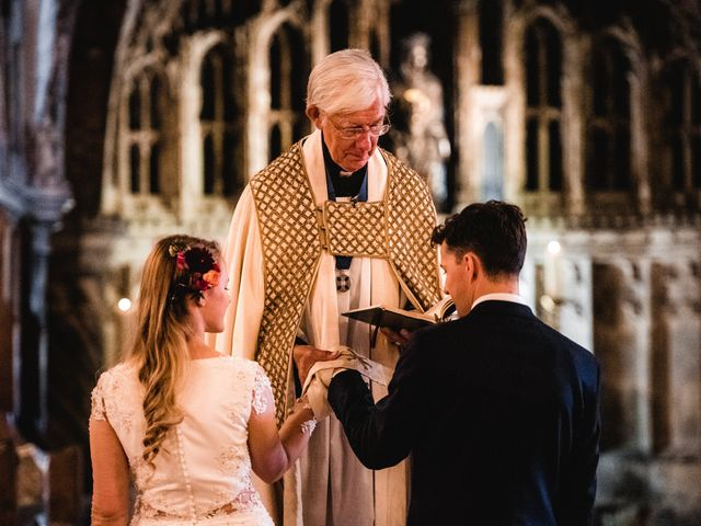 Joel and Emily's Wedding in Canterbury, Kent 43