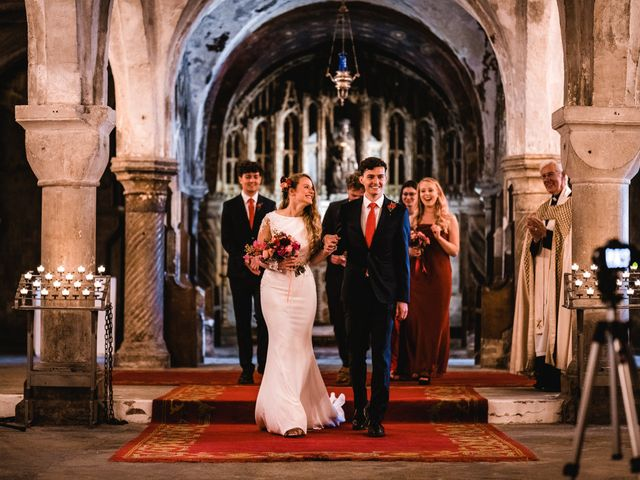 Joel and Emily's Wedding in Canterbury, Kent 54