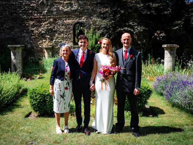 Joel and Emily's Wedding in Canterbury, Kent 65