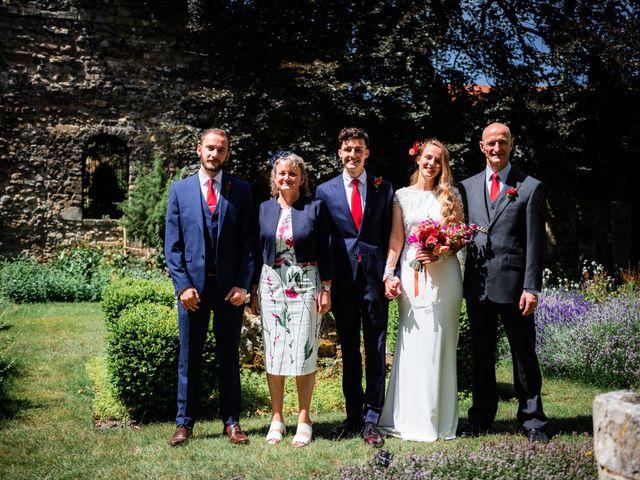 Joel and Emily's Wedding in Canterbury, Kent 66