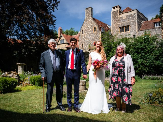 Joel and Emily's Wedding in Canterbury, Kent 74