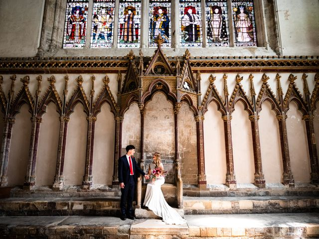 Joel and Emily's Wedding in Canterbury, Kent 1