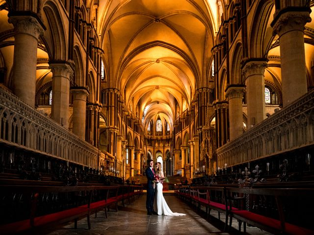 Joel and Emily's Wedding in Canterbury, Kent 2