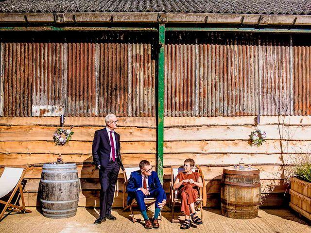 Eddward and Steph's Wedding in Buckingham, Buckinghamshire 18