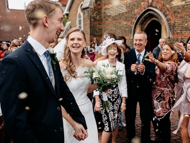 Matt and Amy's Wedding in Sittingbourne, Kent 39