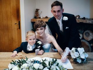 Chloe & Geraint's wedding 1