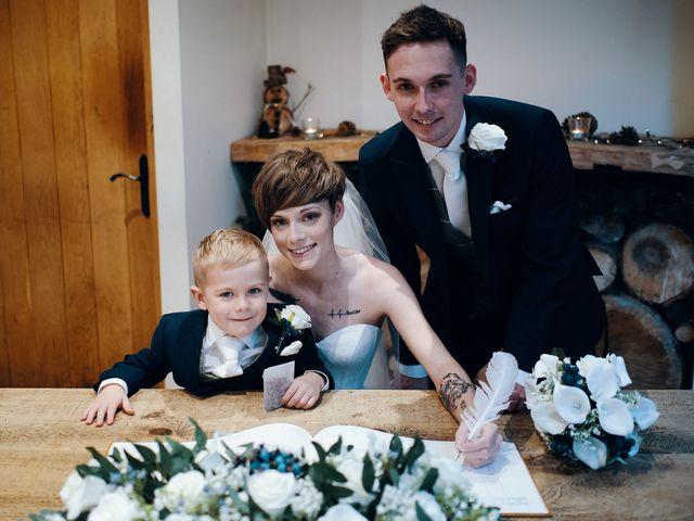 Geraint and Chloe's Wedding in Oxwich, Swansea 3