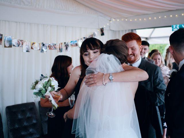 Geraint and Chloe's Wedding in Oxwich, Swansea 4