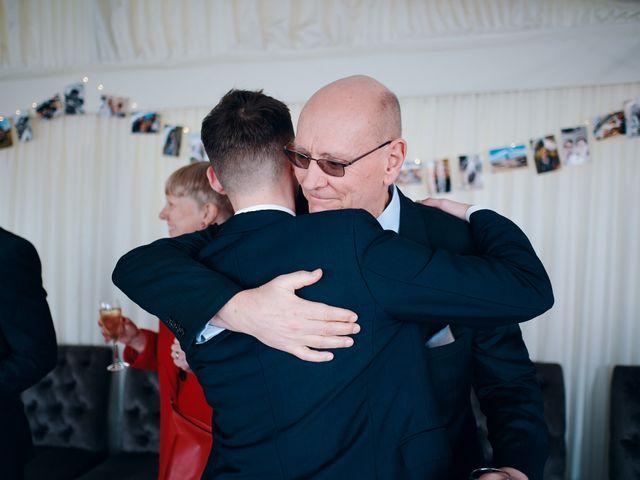 Geraint and Chloe's Wedding in Oxwich, Swansea 5
