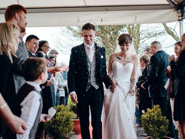 Geraint and Chloe's Wedding in Oxwich, Swansea 6